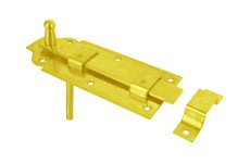 STRAIGHT LATCH WITH FLAT LOCK BOLT AND PASSAGE
